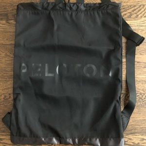 Peloton Drawstring Backpack